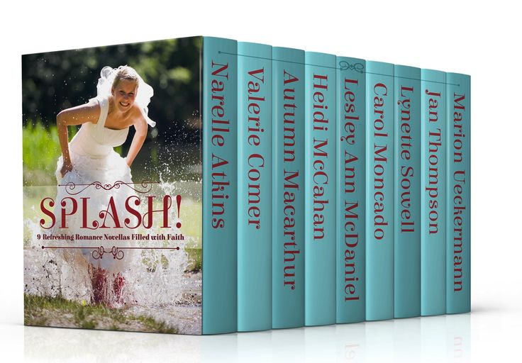 SPLASH! limited time offer box set of NINE contemporary Christian romance novellas for 99 cents.