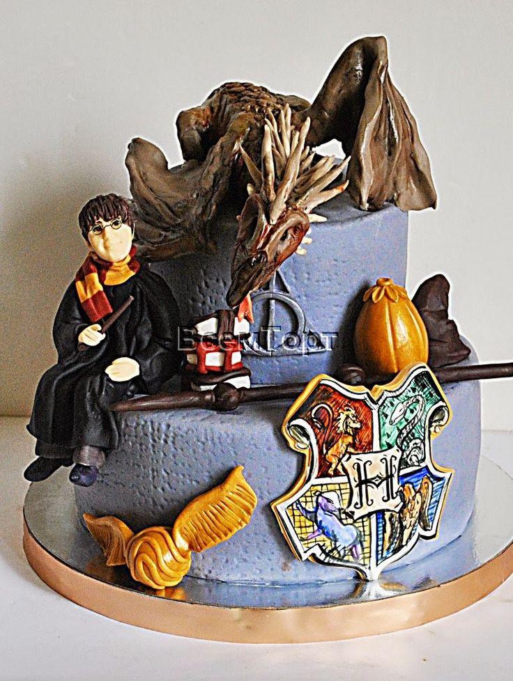 Торт Гарри Поттер. Заказ торта в Москве на день рождения ...