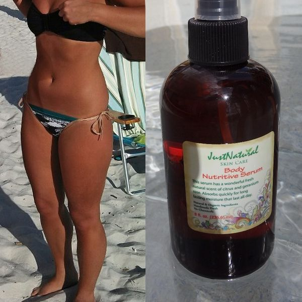 Nutritive Tanning Body Nutritive Serum - Helps & Support Skin