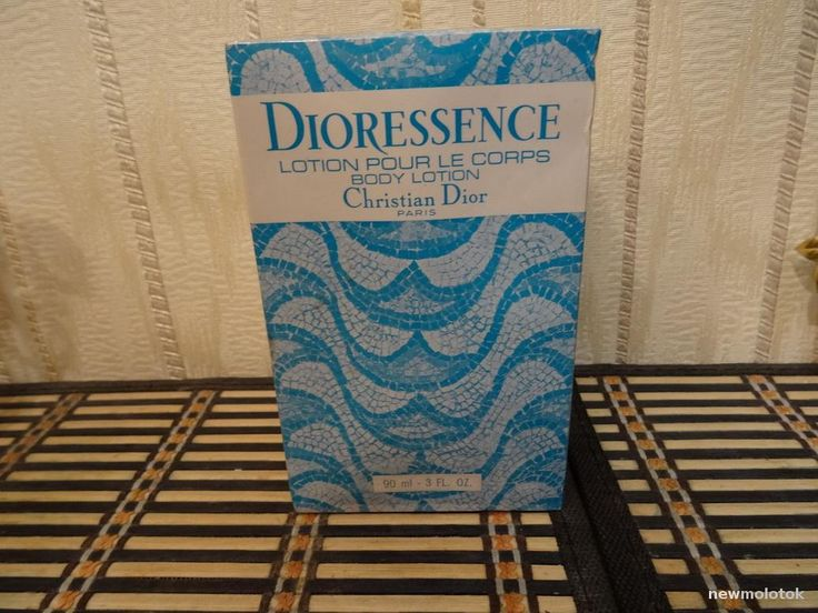 Dioressence Christian Dior 90ml. Lotion pour le corps Vintage by MyScent on Etsy