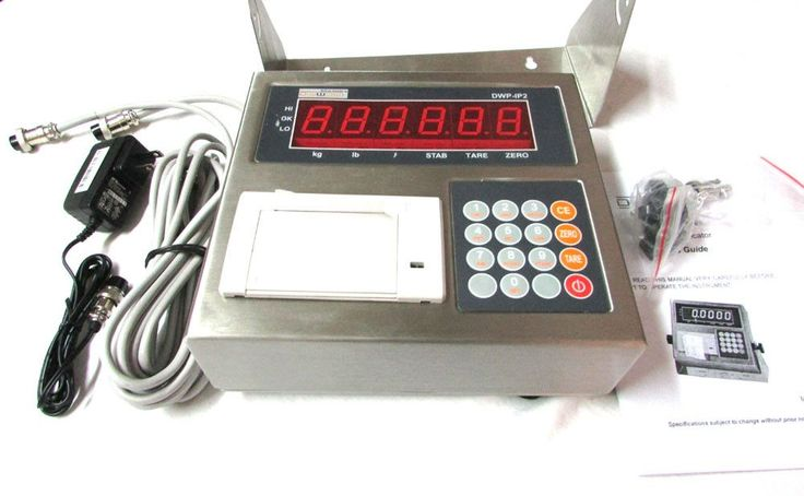 Digiweigh Professional Floor/Pallet Scale (DWP-10000FP) DWP1000FP