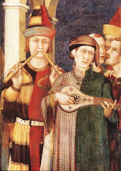 Simone Martini (c 1280-1344) St. Martin is Dubbed a Knight, 1317-19, Chapel of St. Martin