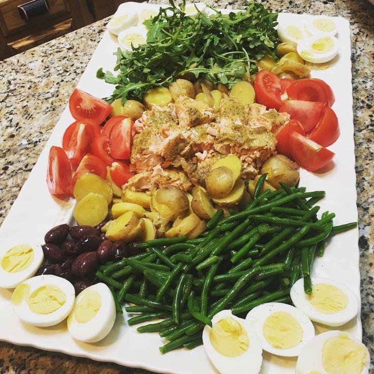 Ina Garten Green Salad: Ina Garten's Salmon Nicoise Salad
