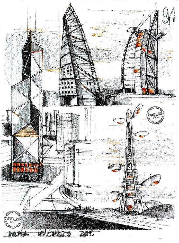 Modern Towers by dedeyutza.deviantart.com on @deviantART