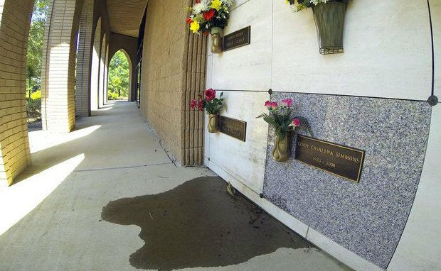 CONFESSIONS OF A FUNERAL DIRECTOR » Sometimes Mausoleums Leak. Here's an explanation why.