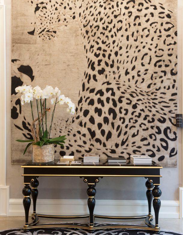 oversize leopard art ♡ teaspoonheaven.com
