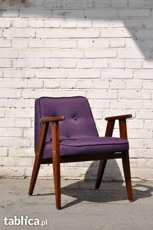 Fotel 366 proj. J Chierowski design PRL/lata 60te Warszawa - image 1