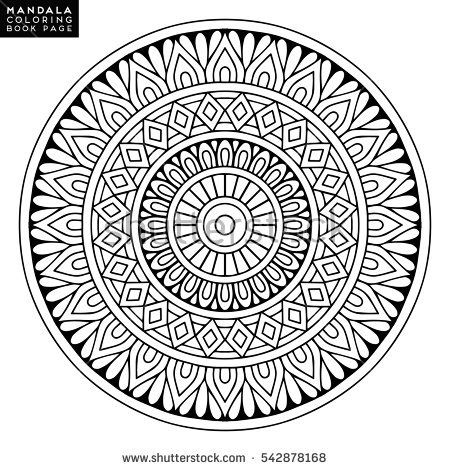 177 best Mandalas images on Pinterest  Mandalas Vector