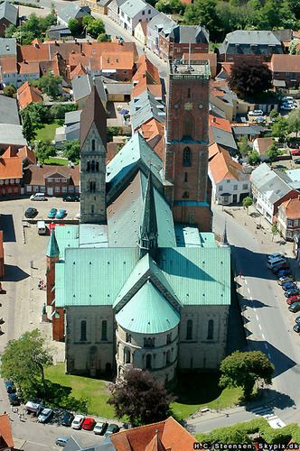 Ribe Cathedral, Ribe, Denmark. http://reversehomesickness.com/europe/25-things-to-do-in-denmark/