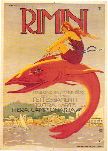 Marcello Dudovich, Rimini, 1922