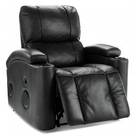 The power recliner of the future has arrived! Space-saving design, BLUETOOTH connectivity and built-in speakers make this the 'best seat in the house' for entertainment.