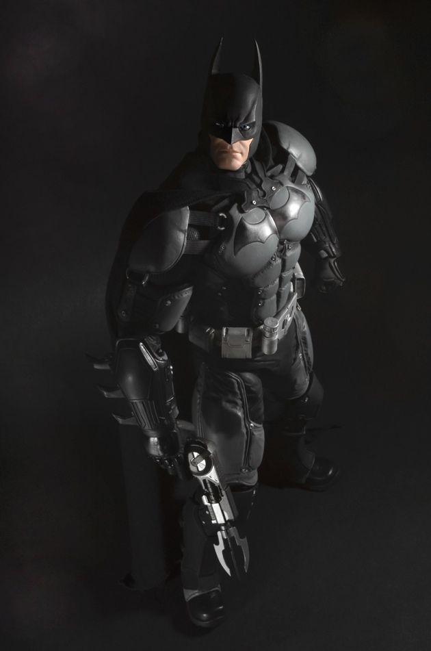 Batman Arkham Origins Batman 1-4 Scale NECA 4
