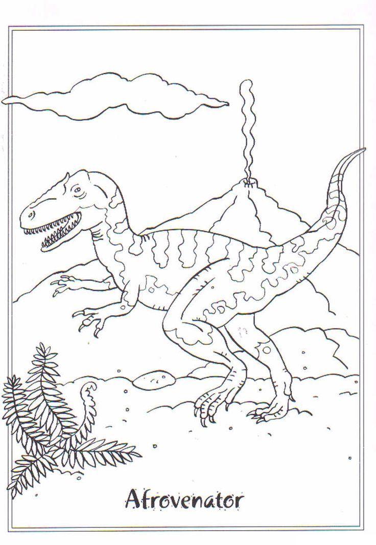 Eccovi Una Serie Di Disegni Di Dinosauri Da Colorare 42 Immagini