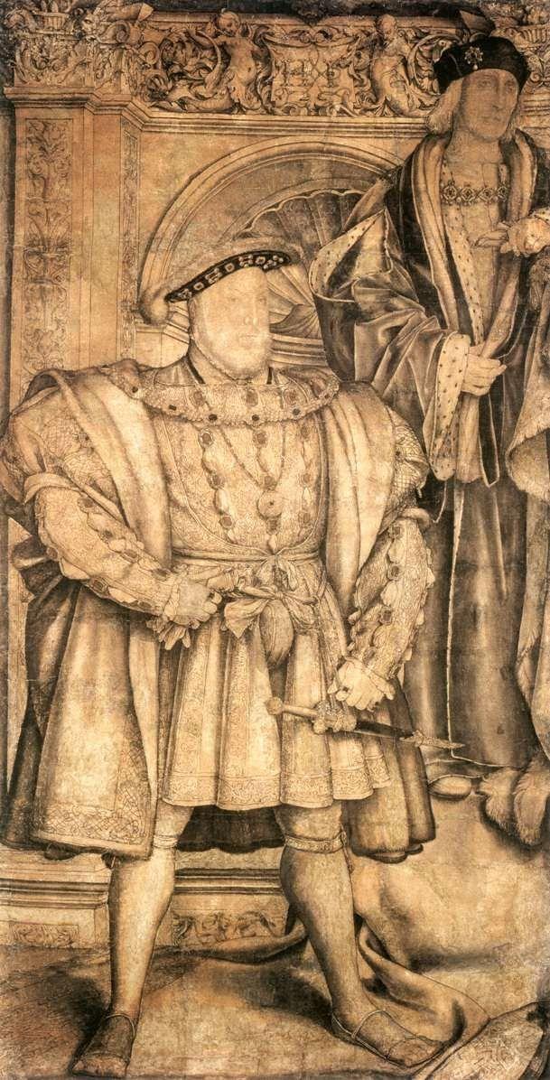 Ερρίκος VIII και Ερρίκος VII (1537)