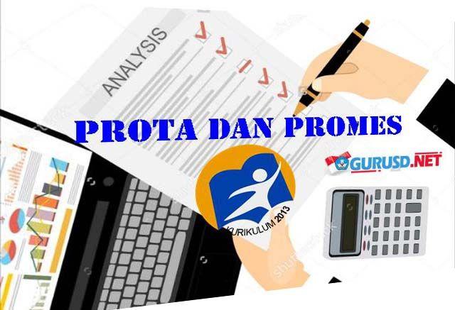 Prota dan Promes Revisi Kurikulum 2013 Kelas 1 SD