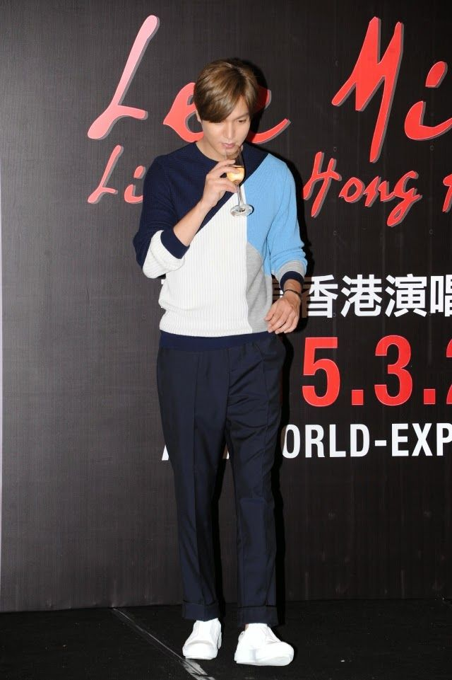 Lee Min Ho - LIVE in Hong Kong Press Conference - 21.03.2015