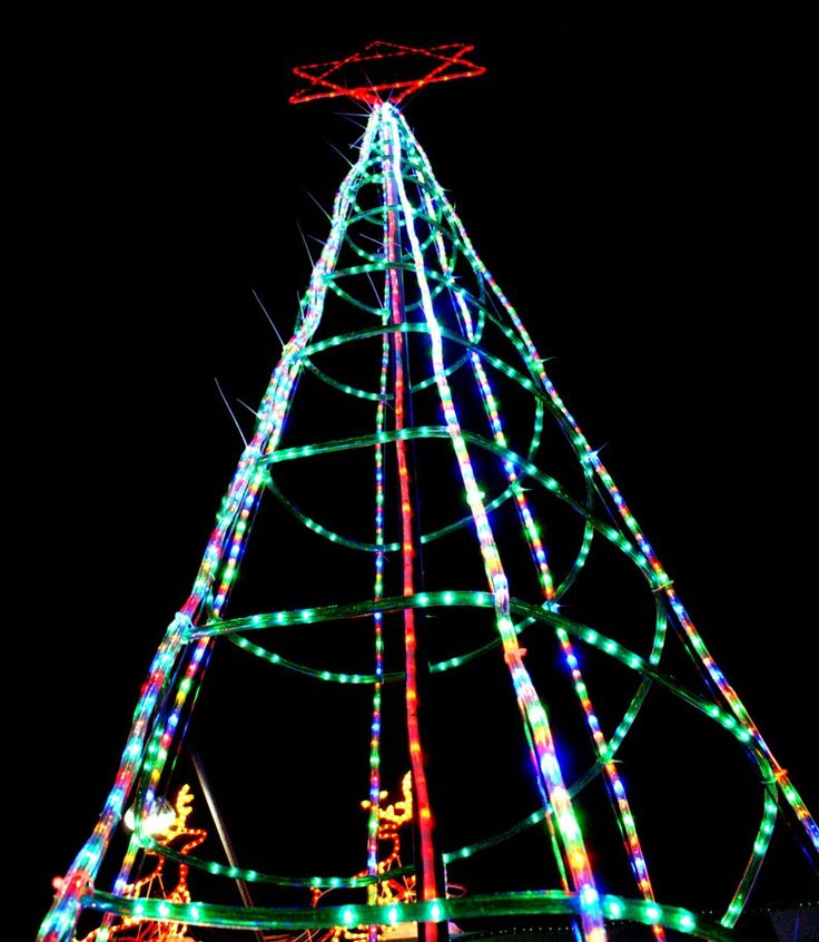 Light the Christmas Tree using a smart phone
