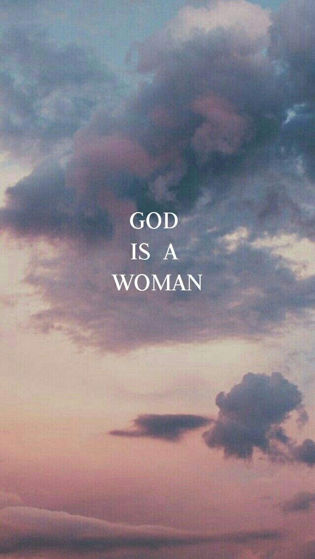 god is a woman ariana grande wallpaper background giaw