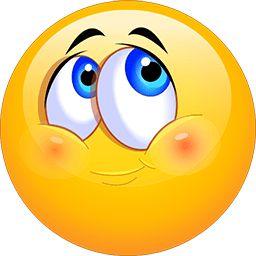 Blushing Happy Emoticon