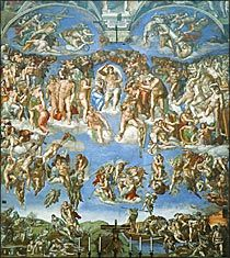 ミケランジェロ・ブオナローティ最後の審判 ルネッサンス期のイタリア絵画