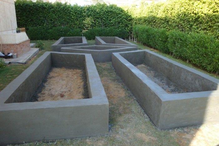 Stein Hochbeet Garten Patio Garden Und Diy