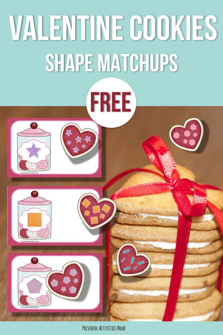 This is a simple little shape matching activity to go with your Valentine theme… or treats and cookies theme if you prefer! To use, simply cut out the heart cookies and match them to the cookie jar mats! You may want to add some labels if your students are ready to read and identify the … Read more...