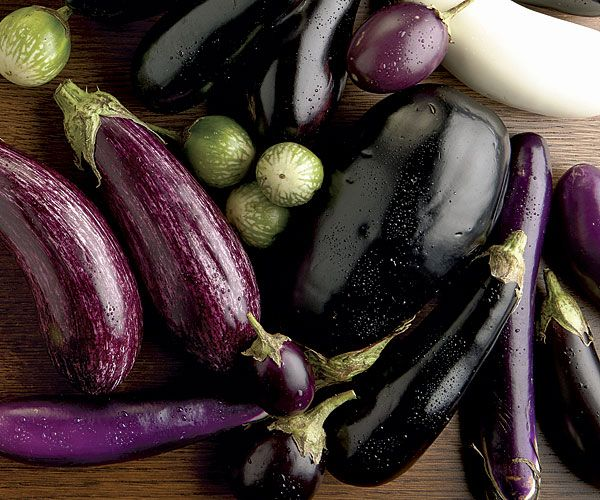 Top ten summer eggplant recipes - grab 'em from the garden or the farmers' market while they're fresh in season!