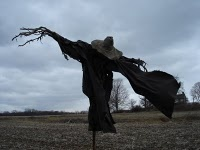 scarecrow.  My residents were asking about a haunted yard scarecrow the other day...hmmm...