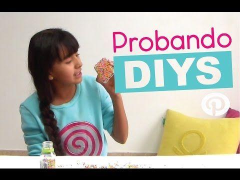 PROBANDO DIYS DE PINTEREST! DIYS TESTED - YouTube