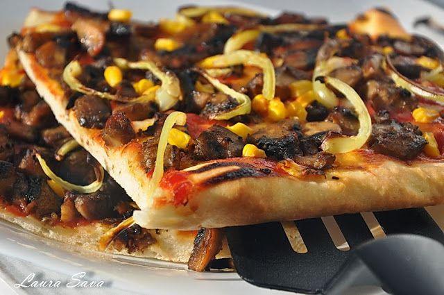 Pizza de post | Retete culinare cu Laura Sava