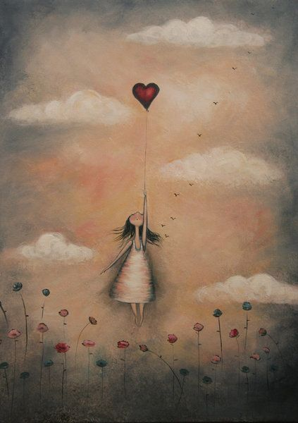 """""""Love from up above"""" - by Amanda Cass"""