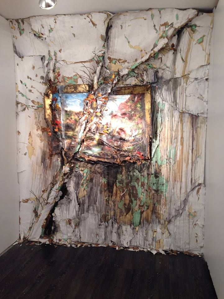 Valerie Hegarty Artist Painting Installation The Lodge Gallery Lower East Side New York