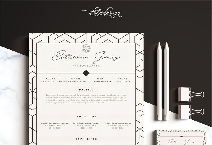 25 best ideas about Executive resume template