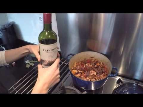 Stoofpot met rundvlees en rode wijn. - Puur Suzanne. | Gezond, puur en lekker eten.