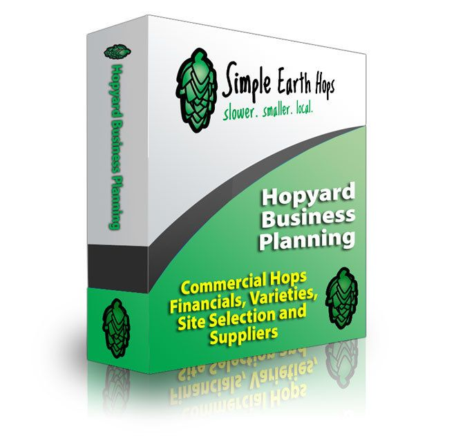 Hopyard Business Planning & Hop Trellis by WisconsinBrewingHops, $30.00