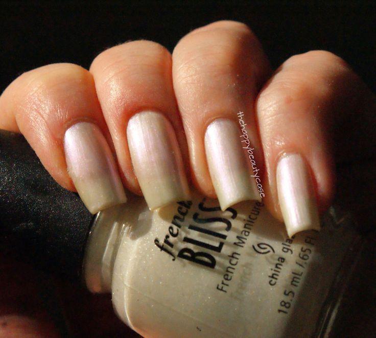 China Glaze French Bliss Oh La La White Pearl