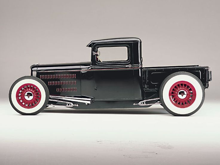A 1934 Ford Pickup customized with American Stamping framerails, Magnum…