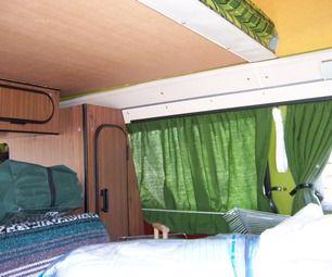Volkswagen Bus Camper Curtains