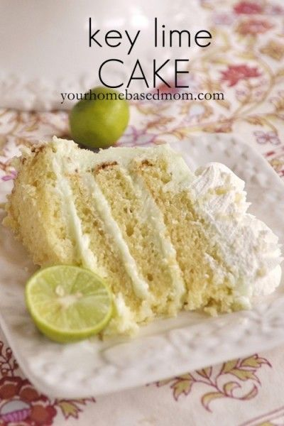 Key Lime Cake | Recipe