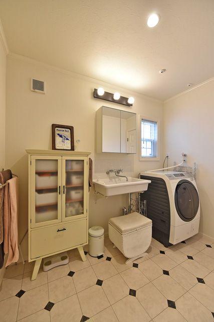 施工例54.ビルドインガレージのあるアメリカンホーム バスルーム