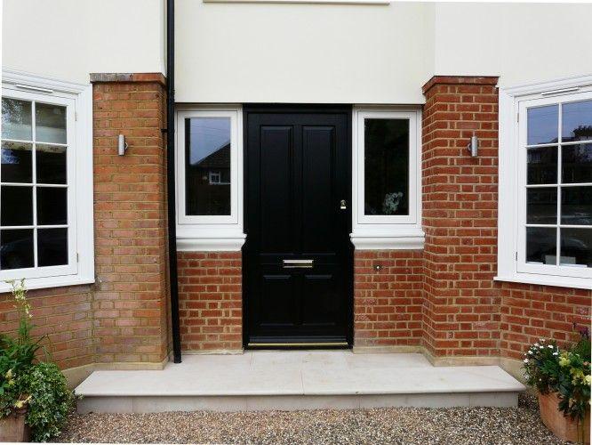 Solid timber front door in Esher Surrey