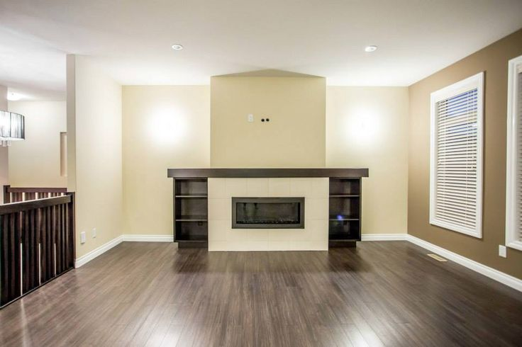 This fireplace is truly the focal point of this room. It make for a warm and inviting area
