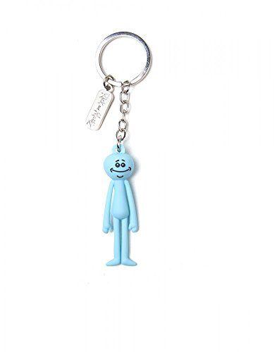 Rick and Morty - Mr. Meeseeks 3D - Schlüsselanhänger   Offizielles Merchandise #Rick #Morty #Meeseeks #Schlüsselanhänger #Offizielles #Merchandise