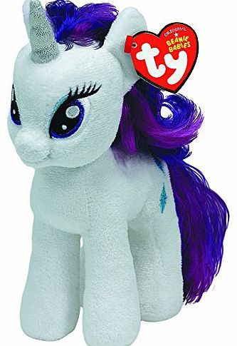 Beanie Babies TY Original Beanies 6`` My Little Pony Rarity My Little Pony Friendship is magic, now you can own a soft cuddly TY My Little Pony collect them all!Suitable for ages 3 years  l (Barcode EAN = 0008421410088) http://www.comparestoreprices.co.uk/beanie-babies/beanie-babies-ty-original-beanies-6-my-little-pony-rarity.asp