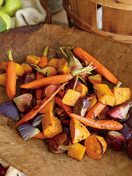Roasted Winter Root Vegetables | Delicious Dishes | Pinterest