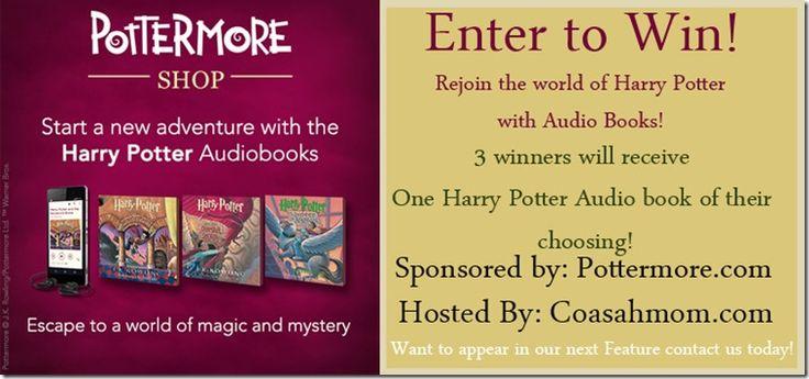 Win Harry Potter Audio Book (3 Winners) U.S. Ends 9/1 #HearHarryPotter http://www.detroitmomandherviews.com/2014/08/win-harry-potter-audio-book-3-winners.html
