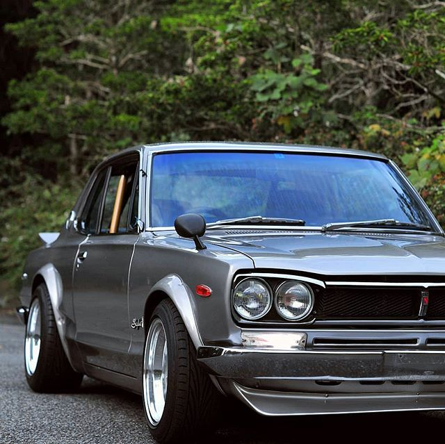 "911racer on Instagram: ""🔵 JDM real masterpiece 🚗 Legend ...  1972 Nissan Skyline Jdm"