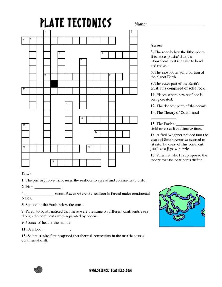 Plate Tectonic Worksheet Answers Fresh Periodic Table