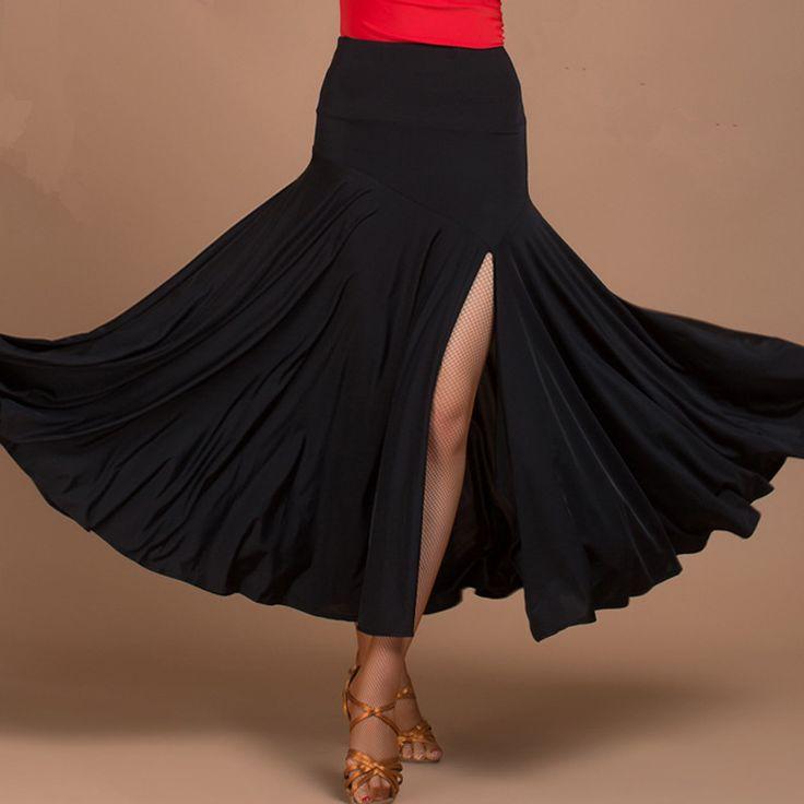Only skirt Modern dance women Ballroom dance dresses Flamenco skirts Ballroom dance skirt women Ballroom dance(China (Mainland))