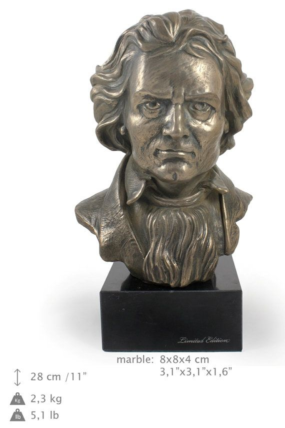 Ludwig van Beethoven famous german people by ArtDogshopcenter